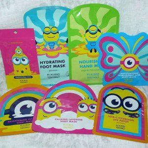 TonyMoly Tony Moly Minions Mask Patches Gloves Set